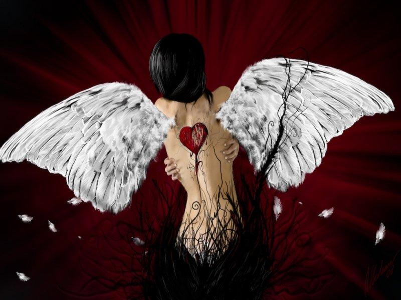 картинки сломанного ангела